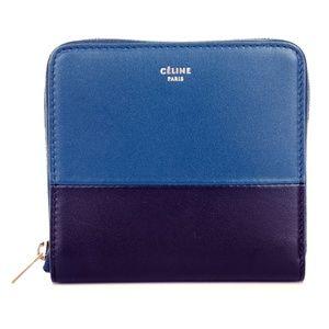 $540+ CELINE Paris Bicolor Multifunctional Wallet
